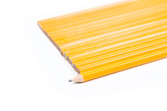 独特的概念没有2支铅笔 库存图片