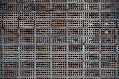 独特的砖样式背景 图库摄影