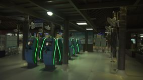 独特的苏梅岛国际机场露天库存英尺长度录影 影视素材