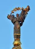 独立基辅纪念碑 免版税库存图片