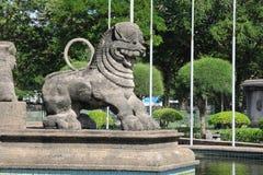 独立大厅在科伦坡被打开了作为斯里兰卡的解放的标志从英国委员会的 库存照片