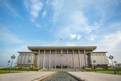 独立宫殿在米斯克,白俄罗斯 免版税库存图片