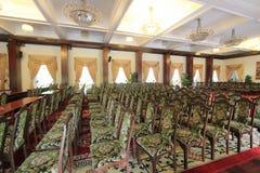 独立宫殿在胡志明,越南 免版税库存照片