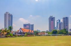 独立广场在吉隆坡 免版税库存照片