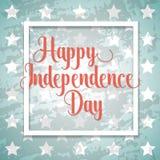 独立日印刷元素 库存照片