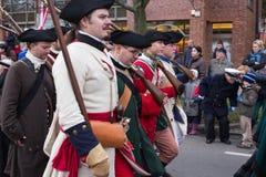 独立日游行。 免版税图库摄影