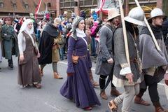 独立日游行。 免版税库存图片