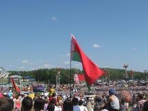 独立日白俄罗斯 库存图片