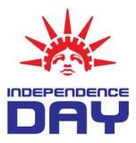独立日美国 免版税库存照片