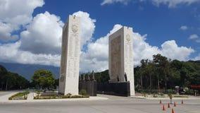 独立的纪念碑,加拉加斯委内瑞拉 图库摄影