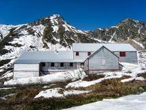 独立矿状态历史公园在阿拉斯加 免版税库存照片