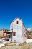 独立矿状态历史公园在阿拉斯加 免版税库存图片