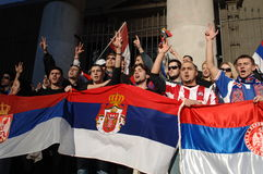 独立科索沃拒付 免版税图库摄影