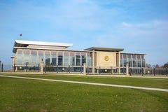 独立米斯克,白俄罗斯宫殿。 免版税库存图片