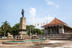独立纪念堂在科伦坡,斯里兰卡的首都 库存图片