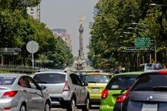独立纪念碑天使  免版税图库摄影