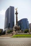 独立纪念碑天使  库存图片