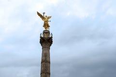 独立纪念碑,墨西哥城 库存照片