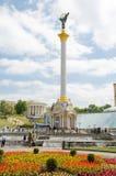 独立纪念碑 免版税库存照片
