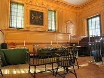 独立霍尔在费城宾夕法尼亚 库存照片
