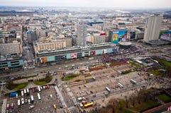 独立2015年3月,华沙 免版税库存图片