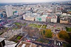 独立2015年3月,华沙 免版税库存照片