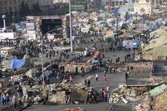 独立Majdan的看法 库存图片