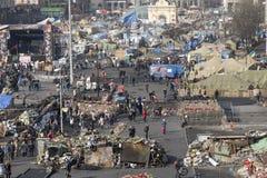 独立Majdan的看法 免版税库存图片