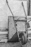 独轮车 免版税图库摄影
