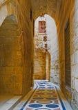 狭窄的大厅 免版税库存图片