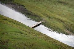 狭窄的桥梁 免版税库存图片