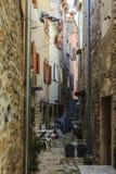 狭窄的街道 库存图片