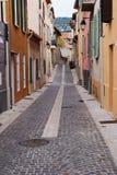 狭窄的街道 免版税库存照片