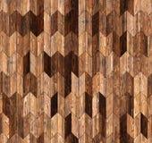 狭窄的V形臂章自然落叶松属木条地板无缝的地板纹理 库存照片
