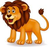 狮子动画片 库存例证