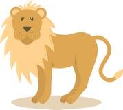 狮子向量 免版税库存照片