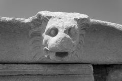狮子喷口 免版税图库摄影
