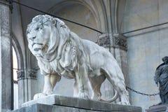 狮子在慕尼黑 免版税图库摄影