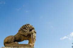 狮子在马耳他 库存照片