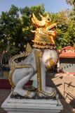 狮子在Wat帕纳 库存照片