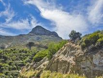 狮子头全景在开普敦,南非 库存照片