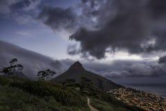 狮子头,开普敦,南非 免版税库存照片