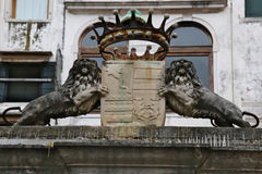 狮子威尼斯 免版税库存照片