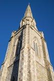 狮子步行团结的被改革的教会在科尔切斯特 库存照片