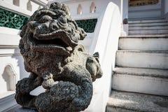 狮子灰泥 免版税库存照片