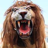 狮子爪哇面具  库存照片
