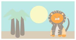 狮子的例证 免版税库存图片