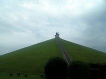 狮子的山,滑铁卢,比利时 免版税库存图片