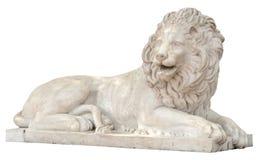 狮子的雕塑 库存图片