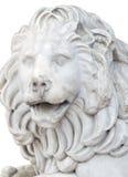 狮子的雕塑 免版税图库摄影
